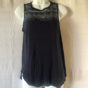 H&M navy tank size small